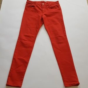 Joe's Jeans 31 RED The Skinny Jeans